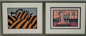 2 Teresa Farr Serigraph Signed And Numbered 1996 amp; 1985 $125.00