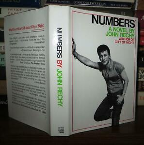 Rechy John NUMBERS 1st Edition 2nd Printing $54.95