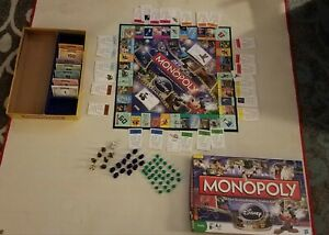 Awesome Monopoly Disney Edition Board Game 2009 Gold Tinkerbell Included $9.95