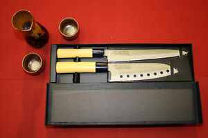 PRO LINE Traditional Sushi Chef Knife Set. 2 Knives