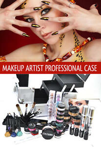 Makeup Artist Professional Loaded Case TAN  By ITAY Beauty Mineral Cosmetics