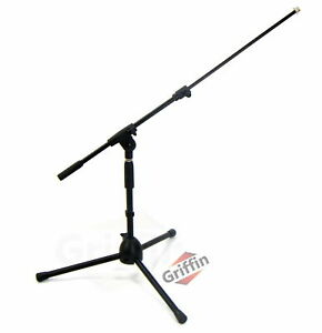 GRIFFIN Short Microphone Boom Stand Small Low Mic Holder Guitar Amp Mount Drum $31.95