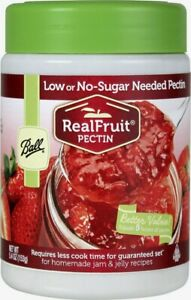 New BALL Real Fruit Low Or No-Sugar Needed Pectin Canning Food 5.4oz 1440071265