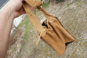 River otter brown fur possibles bag rendezvous style purse hand made Missouri