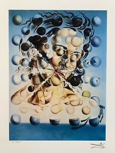 Salvador Dali GALATEA OF THE SPHERES Facsimile Signed amp; Numbered Giclee Art $49.99