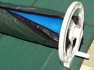 Solar Blanket Winter Cover For Swimming Pool Solar Roller Reel Up To 18' Wide
