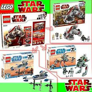 NEU LEGO Star Wars 66341 3er Super Pack 8091 8014 8015
