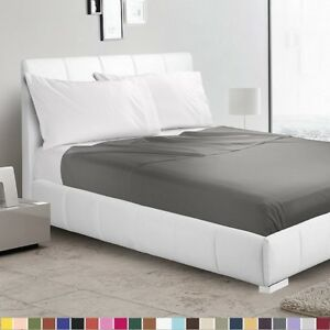 1500 Collection Single Flat Sheet  Top Sheet - Available in 12 Colors All Sizes