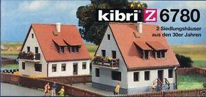 kibri 6780 z gauge 2 rural dwelling houses