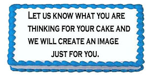 Your Custom Personalized edible cake cupcake cookie frosting sugar  images