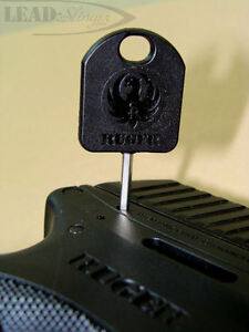 Ruger Factory Internal Lock Key Assembly for Ruger LC9, LC380, Mark III,