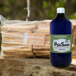 Palo Santo Essential Oil 100% pure 1liter  24kg incense sticks Agarbatti