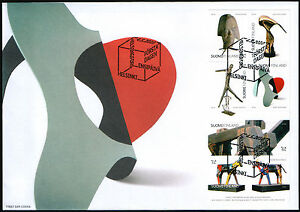 Finland FDC 2010 Art Modern Sculptures Mint $12.00
