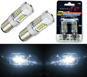 CREE LED Miniature 80W 1157 S25 BAY15d Green Ten Bulbs Replacement Light Upgrade