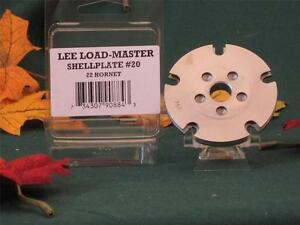90884 Lee Load Master LM Shell Plate #20 22 Hornet