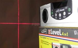 iGaging digital electronic LCD 9quot; level laser cross hair amp; pouch torpedo spirit $37.60
