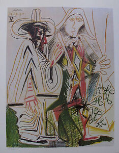Pablo Picasso BIRTHDAY 1972 Plate Signed Limited Edition Art Lithograph $49.99