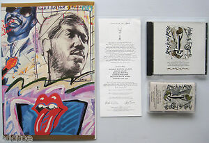 4th Rock & Roll Hall of Fame 1989 PROGRAM CD TAPE &MENU! STONES WONDER REDDING