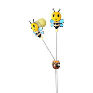 Viewquest Intelligent Jewellery In Ear Earphones Head Phones Bees