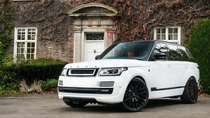 Kahn Design RS-600 Vented Wide Wheels Arches - Range Rover Vogue 2014-Newer