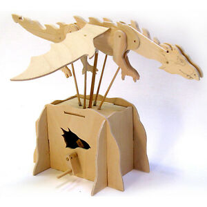 new flying dragon working wooden construction