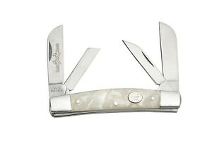 4 Blade Congress Folding Pocket Knife Pearl Handles NEW 210974 WH $12.70