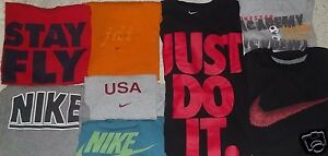 Lot 21 Nike Under Armour Jordan Oakley Adidas Mens T-Shirts S Small READ