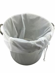 Extra Large 26quot; x 22quot; Drawstring Brew in a Bag Straining BIAB Homebrew Wine