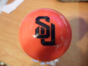 Syracuse Orange Billiards Pool Ball Knob for Dillon Hornady RCBS Reloading Press