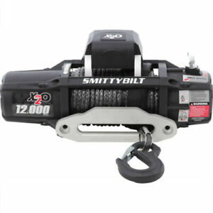 Smittybilt 98512 X2O 12K GEN2 Winch 12,000 lb Winch Waterproof w/ Synthetic Rope