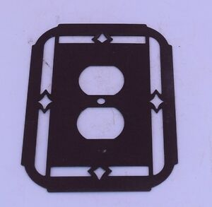 Southwest New Mexican Outlet Covers Standard Western Decor Metal