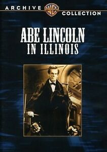 ABE LINCOLN IN ILLINOIS NEW DVD $21.61