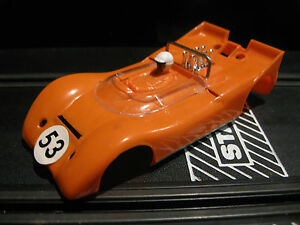 strombecker orange chevy lola body 1 32