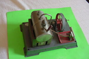 wilesco toy steam engine for parts or