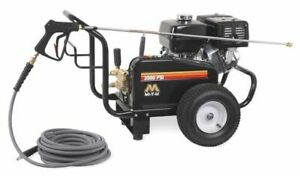 PRESSURE WASHER 3500 PSI 3.7  GPM GASOLINE 13 HP OHC HONDA