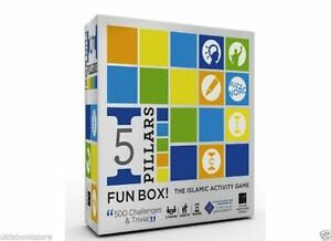 5 Pillars Fun Game Box Its All About 5 Pillars of Islam and Learning Game $125.95