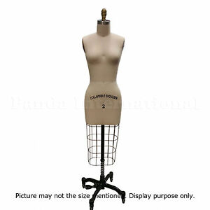 Professional Sewing Dress Form Size 8 Dressform Mannequin High Quality $345.00