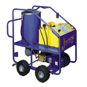 Steam Jenny Oil Fired 1350 PSI at 2.1 GPM Hot Pressure Washer - ELHW-1421-OEP