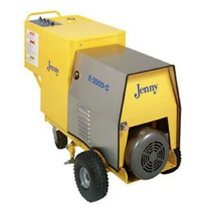 Steam Jenny Electric 2000 PSI at 4 GPM Pressure WasherSteam Cleaner E-2000-C
