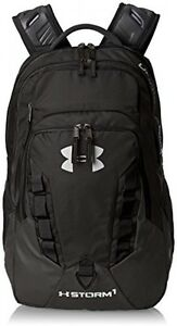 Under Armour Storm Recruit Backpack Black (001) One Size