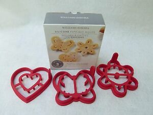 3 Williams Sonoma Pancake Molds