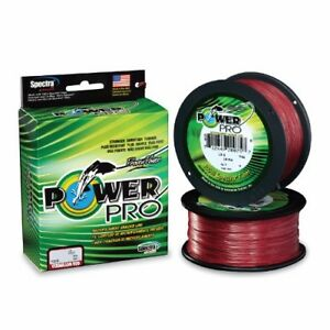 Power Pro Spectra Braid Fishing Line 200 lb Test 1500 Yards Vermilion Red 200#