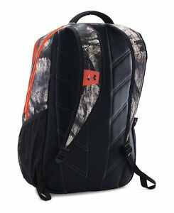 Under Armour UA Camo Hustle Backpack One Size Fits All Mossy Oak Treestand