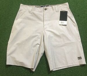 NEW! OAKLEY STANLEY SHORT 2.0 STONE GRAY 34 REGULAR FIT (441977X) $37.99 BIN!