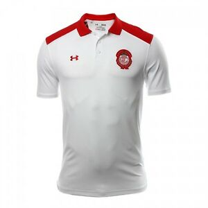 DIABLOS ROJOS DE TOLUCA MENS CASUAL POLO MARCA UNDER ARMOUR 2016-2017  LIGA MX