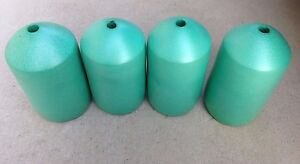 FOUR PACK GREEN Commercial Grade Crab Pot & Trap Buoys 7