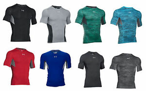 UNDER ARMOUR MEN'S COOLSWITCH COMPRESSION SHORT SLEEVE SHIRT M L XL XXL NEW NWT