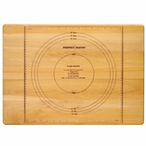 Catskill Craftsmen Reversible Perfect Pastry Cutting Board in Birch