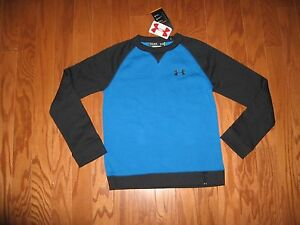 UNDER ARMOUR LONG SLEEVE SWEATSHIRT BOYS SIZE LXL NWT