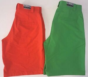 Men's Under Armour Loose Fit Heat Gear Flat Front Golf Shorts